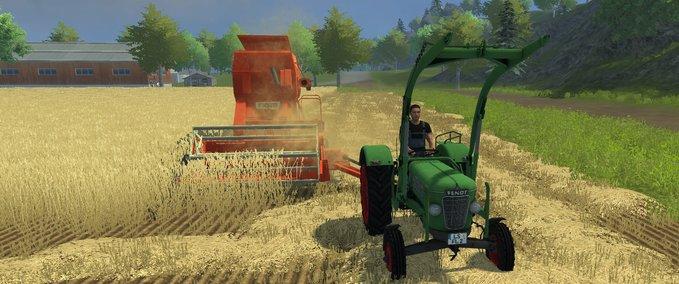 FS 2013: Driving M66T v 2.2 Oldtimer Mod für Farming ...