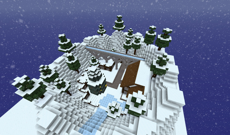 minecraft weihnachts server map v 1 0 maps mod f r minecraft. Black Bedroom Furniture Sets. Home Design Ideas