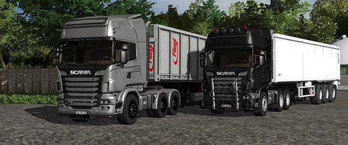 Scania R730 Topline v 1.0 Silver image