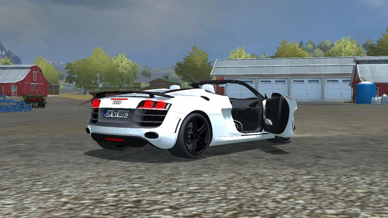 Fs 2013 Audi R8 Spider V 2 0 Mr Cars Mod F 252 R Farming