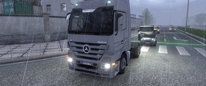 Mercedes Interior MP3 and Tuning v 1.0 ets2 image