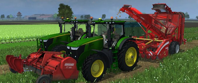 FT300 and beet harvester Combi v 1.0 image