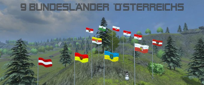Austria flags v 1.0 image