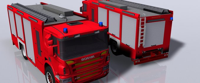 """FS 15/2013/2011: """"Vehicles Fire department mods for Farming Simulator"""
