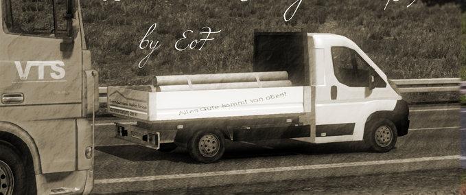Roofers Skin Peugeot Boxer v 1.0 ets2 image