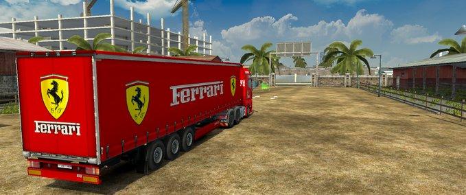 Ferrari Truck Trailer Interior v 1.0 ets2 image