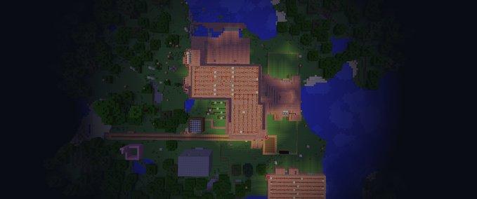 minecraft haus mit pferdestall v 1 7 2 maps mod f r minecraft. Black Bedroom Furniture Sets. Home Design Ideas