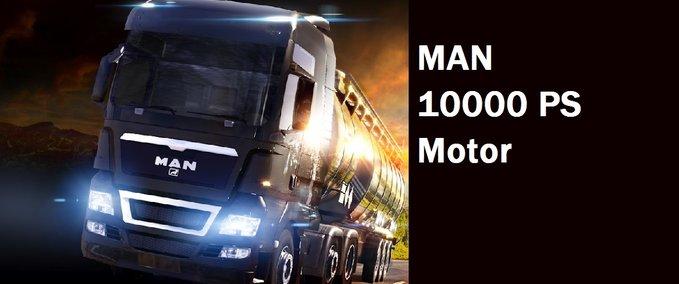 10000PS motor for MAN v 1.0 ets2 image