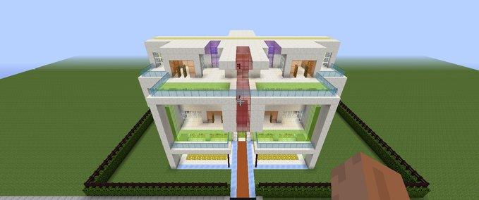 Moderne-minecraft-villa