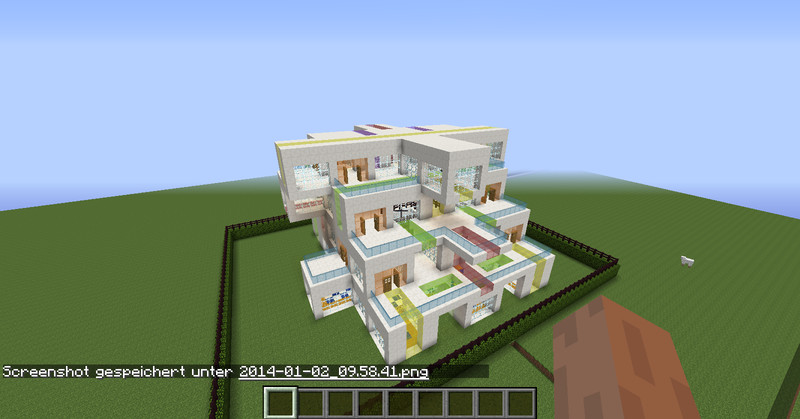 Minecraft moderne minecraft villa v 1 7 maps mod f r for Minecraft modernes haus download 1 7 2