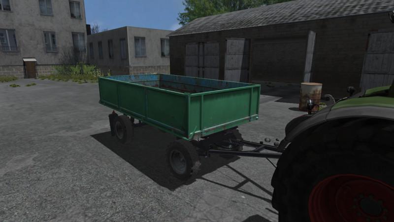 Fs 2013 Przyczepa Hw V 1 1 Fifth Wheel Mod F 252 R Farming Simulator 2013