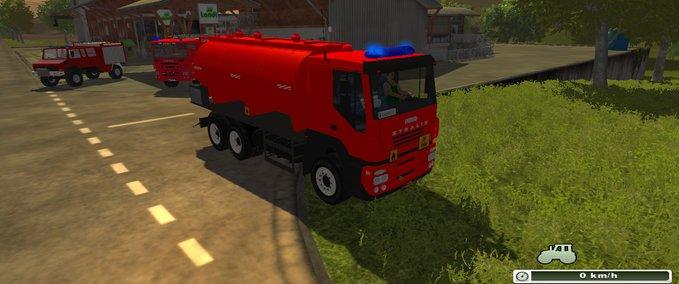 Feuerwehr-tankwagen