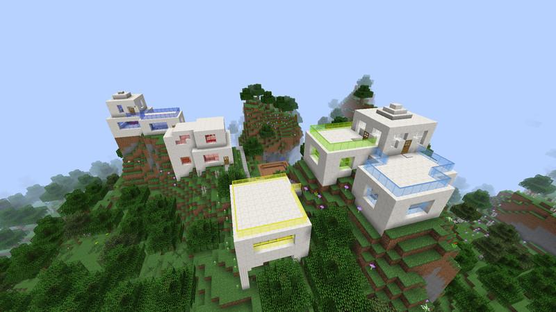 Minecraft Modern Homes V Maps Mod Für Minecraft Modhostercom - Minecraft hauser videos