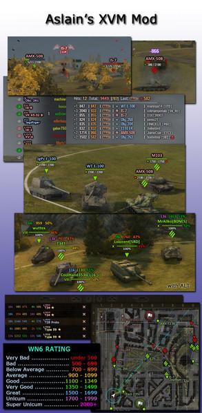 world of tanks aslain's mod installer