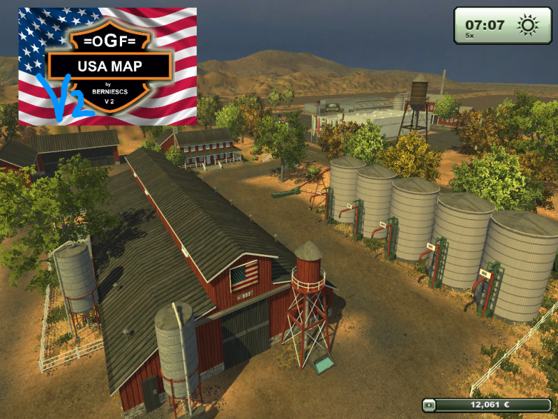 Farming Simulator 2013 Trilla De Trigo Youtube: Southeastern Usa Map Farming Simulator 2013 At Usa Maps