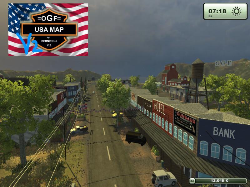 FS OGF USA MAP V Maps Mod Für Farming Simulator - Norway map ls 2013