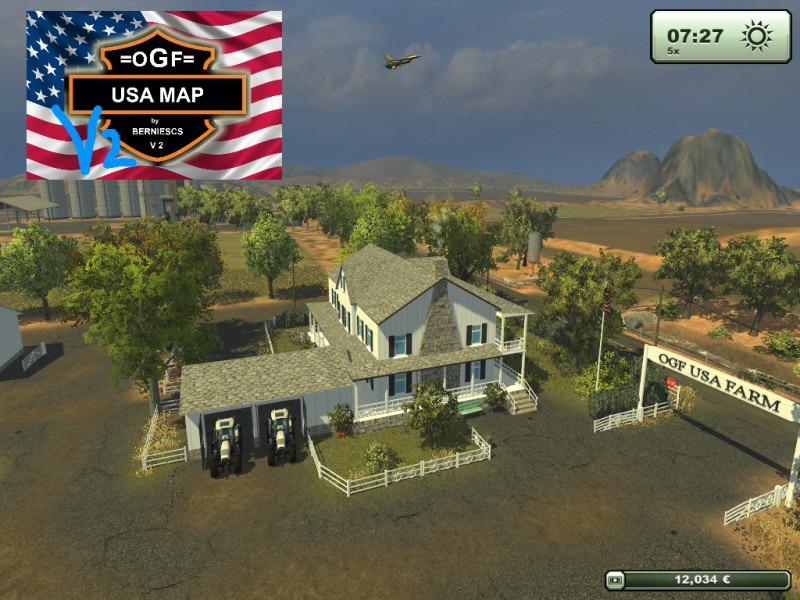 LS 2013: OGF USA MAP v 2.1 Maps Mod für Landwirtschafts Simulator on