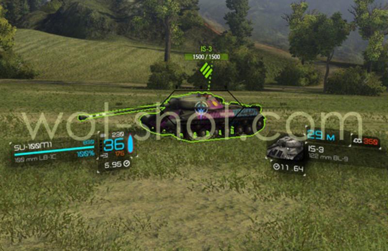 world of tanks gunsight mod