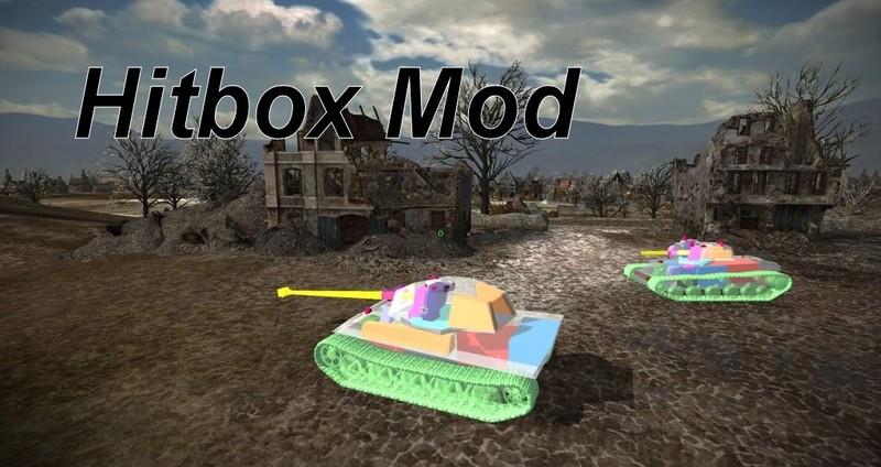 WOT: HitBox Skins v 8 9 Skins Mod für World Of Tanks