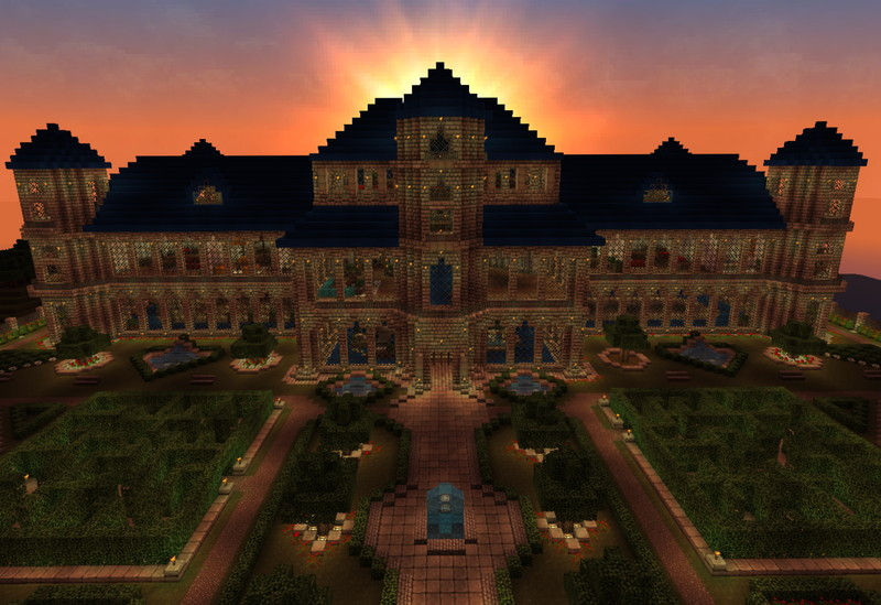 Minecraft Castle Blue Castle V 11 Maps Mod Fur Minecraft