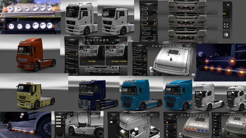 ets 2 zus tzliche anpassungen v 4 2 mods mod f r eurotruck simulator 2. Black Bedroom Furniture Sets. Home Design Ideas