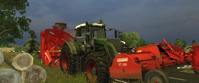 FT300 and beet harvester Combi v 1.1. MR image