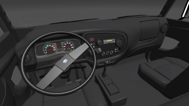 Ets 2 ford cargo 4331 with interior v 1 0 sonstige mod f r eurotruck simulator 2 for Ford cargo van interior panels