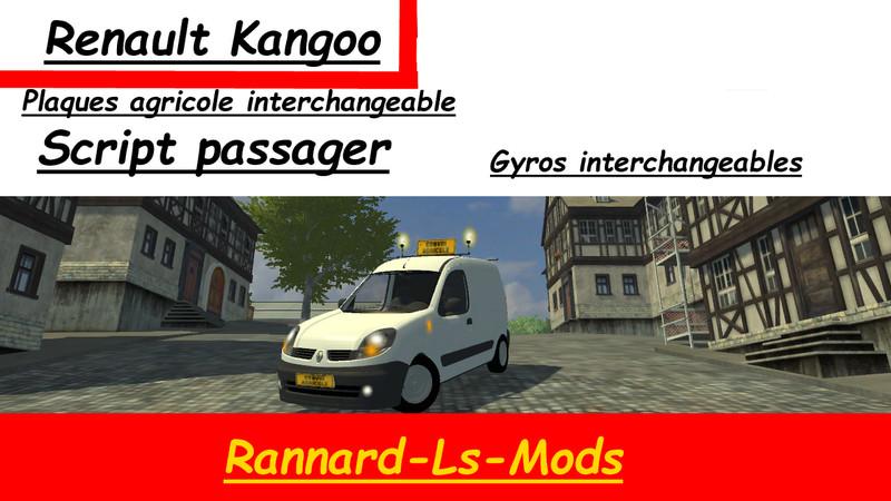 Fs 2013 Renault Kangoo V 2 0 Cars Mod F 252 R Farming