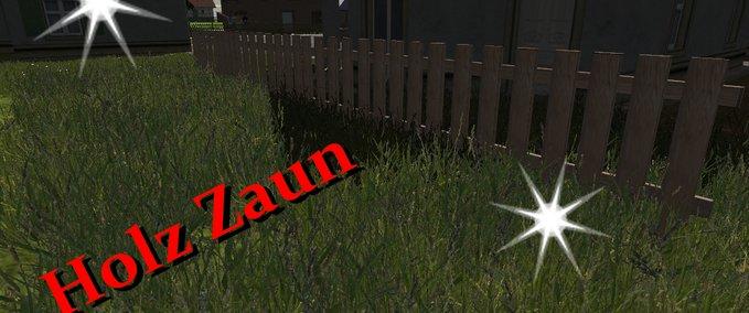 Wooden fence v 1.0 image