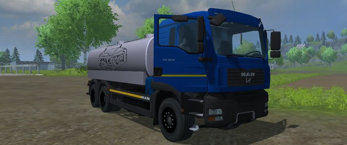 One milk truck v 1.0 image