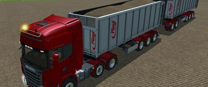 SCANIA R730 TOPLINE RED v 1.1. MR image