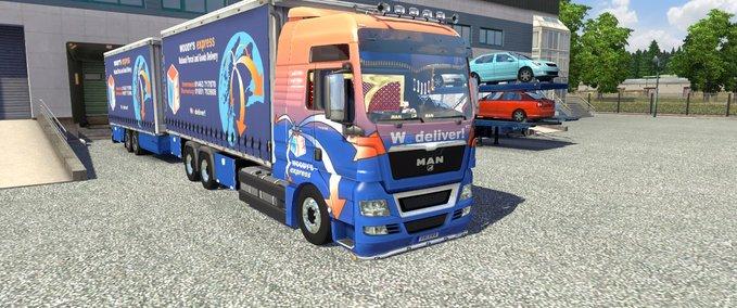 том, что моды на грузовики в евро трек симулятор 2 чем