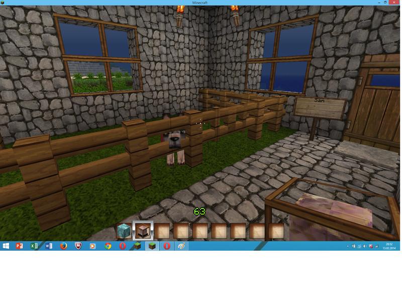 minecraft gro es haus mit keller v 1 6 1 5 2 modloader mod f r minecraft. Black Bedroom Furniture Sets. Home Design Ideas