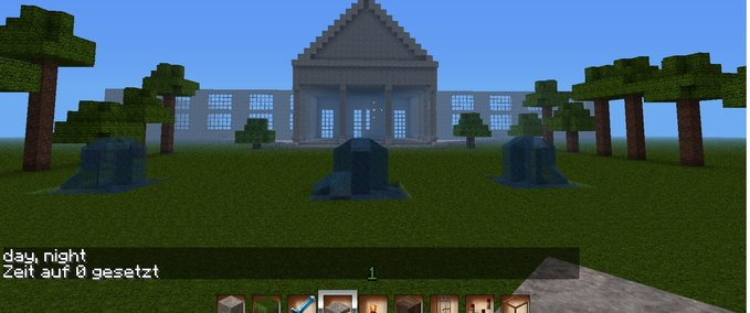 Minecraft The White House V Maps Mod Für Minecraft Modhostercom - Maps fur minecraft 1 8 8