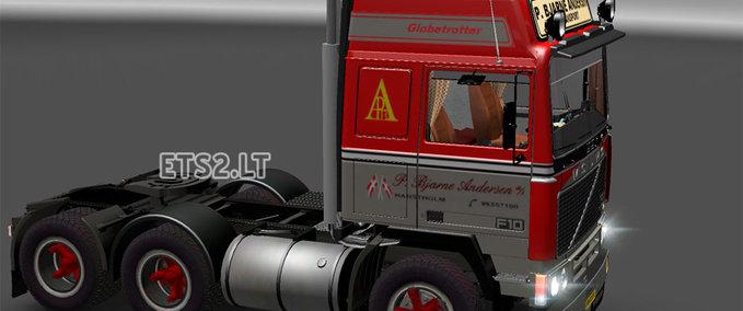 ETS 2: Volvo F10 v 1 0 Volvo Mod für Eurotruck Simulator 2