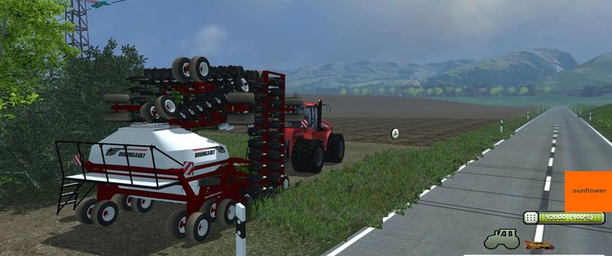 Bourgault-seeder