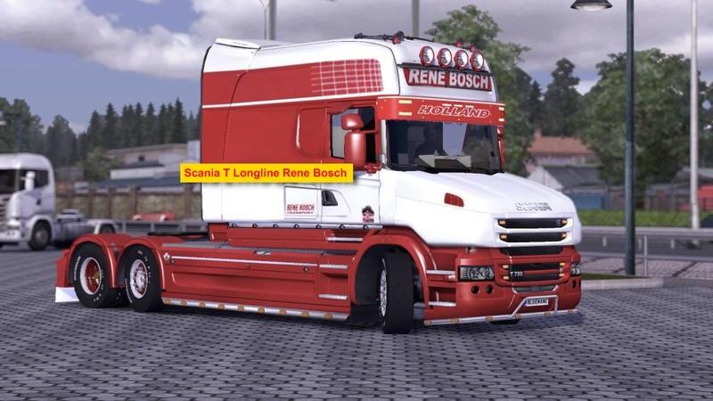 Ets 2 scania t longline rene bosch truck v 1 0 scania mod for Interieur scania longline