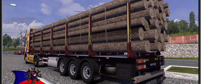 TZ Log Trailer v 2.0 ets2 image