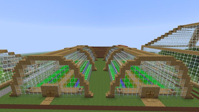 Как сделать механическую ферму в майнкрафт пе