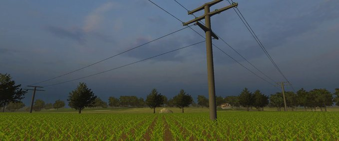 Electricity pylons made of concrete Pack v 1.0 image