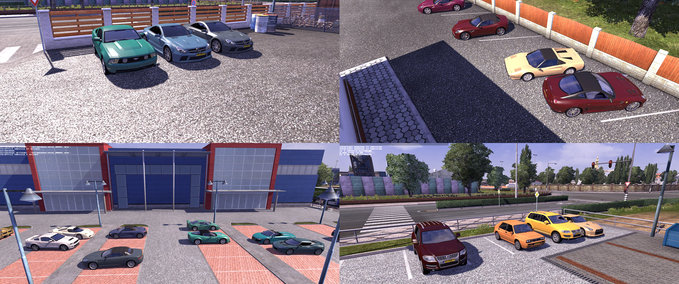 82 New AI Cars in Traffic v 1.0 ets2 image