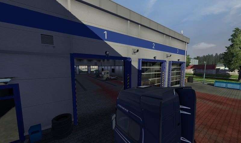 Ets 2 Garage Open V 1 0 Mods Mod F 252 R Eurotruck Simulator