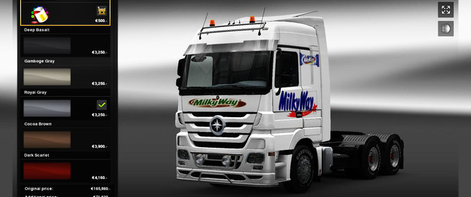 Mercedes Milky Way v 1.0 ets2 image