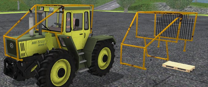 Forstkaefig for MB Trac 1600 Turbo v 1.0 image