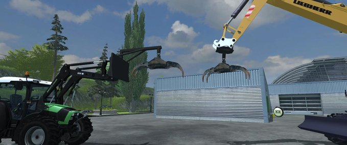Forestry pliers for Forstmod v 1.0 image