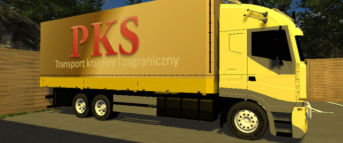 IVECO model yellow v 1.0 image