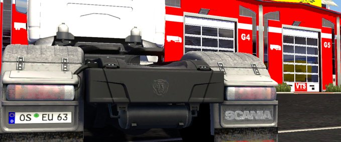 Dirty Scania v 1.0 ets2 image