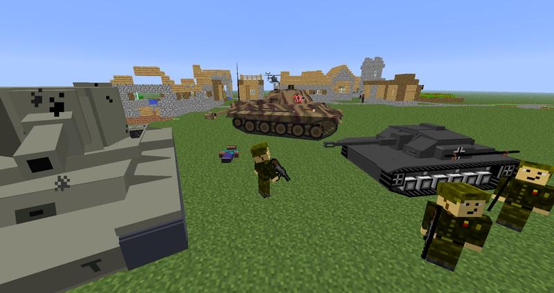 Minecraft Soldier WW V Skins Mod Für Minecraft Modhostercom - Skins fur minecraft 1 11 2
