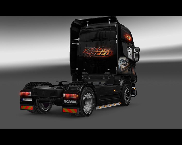 ets 2 need for speed scania v 1 0 skins mod f r. Black Bedroom Furniture Sets. Home Design Ideas