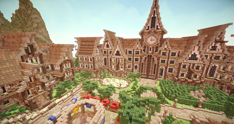 Minecraft: Hypixels Awesome Lobby v 1 0 Maps Mod für Minecraft